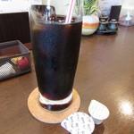 おばんざい 春一番 - セットドリンクのアイスコーヒー
