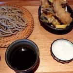 蕎麦 いち - 天ぷらそば(冷)♪