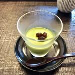 京料理・寿司 竹林 - 抹茶プリン