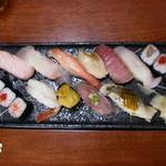 8698161 - ミキ寿司おまかせ3000円