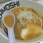 鶏 ソバ カモシ - 味噌ラーメン