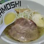 鶏 ソバ カモシ - 塩ラーメン