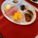 尾瀬沼山荘 - 朝ご飯