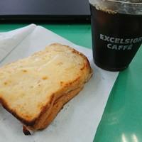 エクセルシオール カフェ-持ち帰ると貧相になるトースト