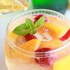 むすびcafé - ドリンク写真:フローズンフルーツソーダ ピーチ又はマンゴー