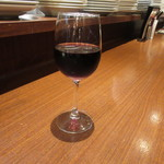OLIVE - グラスワイン(赤)500円