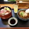 浜寿司 - 料理写真:ちらしハーフセット