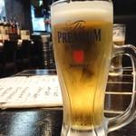 魚店亜紗 - 2018年6月 生ビール