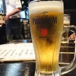 魚店亜紗 - 2018年6月 生ビールお代わり