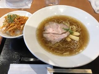 のっけご飯と中華そば95