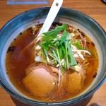 美食空間 翠花 - 葱と焼き豚のラーメン 756円