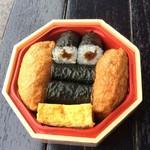 築地寿司岩 - 花魁❣️揚巻〜、お揚げと巻き寿司