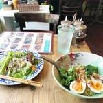 86989151 - ランチメニュー「タイ風汁なしまぜ麺」(1080円)
