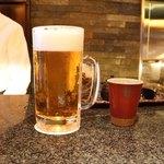 とんかつ マンジェ - ■特大生ビール 1080円