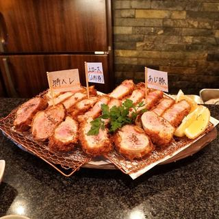 とんかつ マンジェ - 料理写真:■とんかつ三昧 5500円