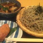 8699108 - 鴨せいろ&わさび昆布の稲荷寿司