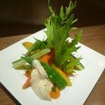 神田バル - こだわり野菜のバーニャ風(本日:鎌倉自然野菜) 500円
