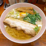 麺屋ひょっとこ - 和風柳麺(¥670)。貝のように深い旨味を感じる、吸物のようなスープ!