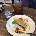 大仏cafe - ケーキセット(600円税込)