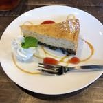 大仏cafe - アールグレイのベイクドチーズケーキ