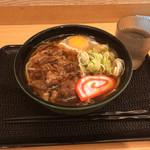 86993518 - 肉玉そば620円(2018.05)