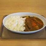 松尾ジンギスカン - 「特製羊肉カレー」です。