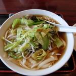 中華料理 大福 - 料理写真:野菜刀削麺