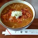 味の福龍 - カツカレー蕎麦 850円