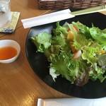 真清水Cafe - サラダ