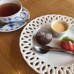 真清水Cafe - デザートプレート