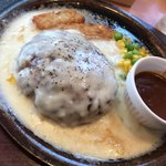 ガスト - チーズイン&チーズオン ハンバーグ