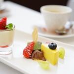 ビストロ イブー - Aコース (¥2,600) デザート