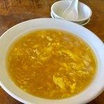 レストラン・ドウ・花井 - コーンスープ