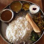 インド食堂 チチル&シシリ - ダルバート A  ライスが多いです^^;