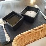 ダ・モコ - 塩で食べるパンが美味しかった