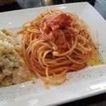 ダ・モコ - 「ツナとトマトのスパゲティーニ」