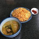 縁者 - 辛味つけ麺中盛り