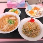 重松飯店 - 満腹セット 1026円