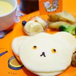 ジェイエスパンケーキカフェ - しろくまちゃんのパンケーキ (¥1,000)