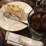 87003384 - ケーキセット(レモンタルトとアイスコーヒー)