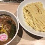 東京アンダーグラウンドラーメン 頑者 - つけ麺(830円)