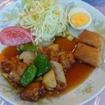 世世 - 酢豚定食1,080円