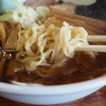 旅館 琴平荘 中華そば処 - 麺アップ