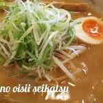 ばかあたり - 味噌野菜チャーシューラーメン