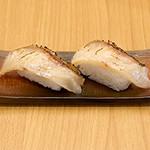 うまい麺には福来たる - Cセット 鯛の昆布〆炙り寿司