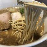 RAMEN RS 改 - 魚介白湯の麺