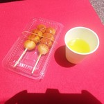 石村萬盛堂 - お茶は無料