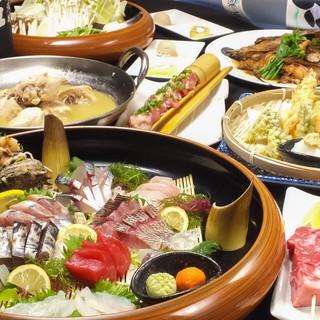 糸島で獲れた新鮮食材!和食の技術でご提供