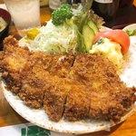 竹乃 - 特上ロースカツ定食