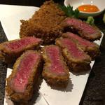 えん - 料理写真:牛かつ